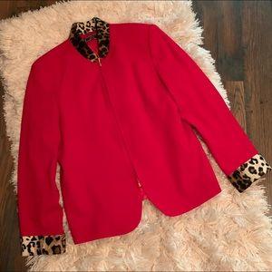 Vinci Clothiers Woman's Dress Jacket Size 14